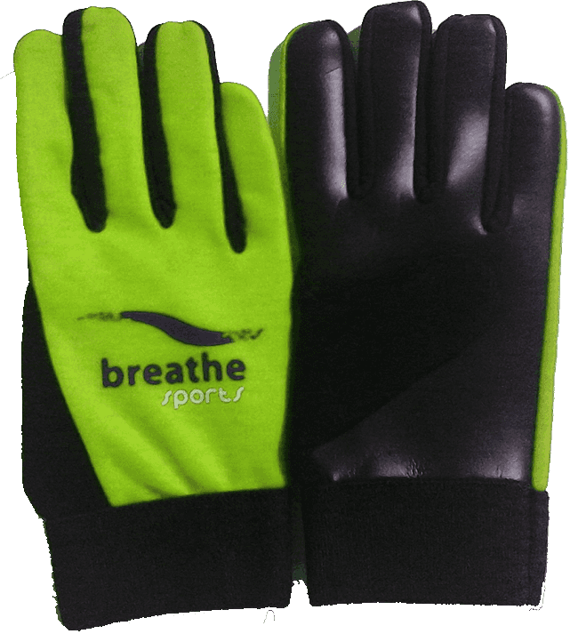 Kids Gloves (Lime Green/Black)