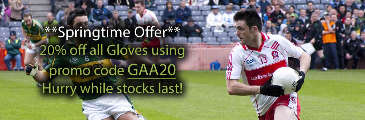 Breathe Sports Gaelic Gloves offer