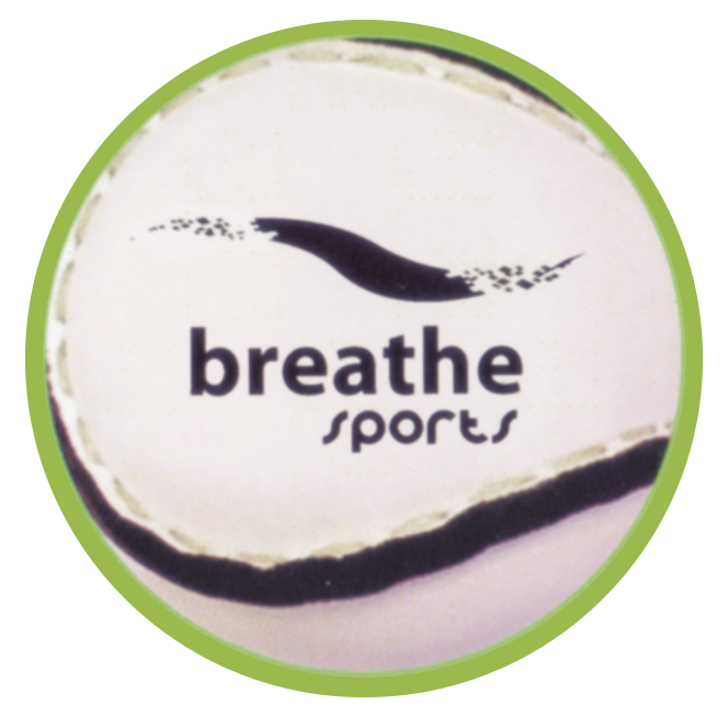 Breathe Sports Sliothar (White) - Size:4