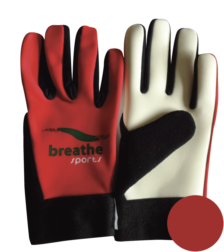 Adult Gloves - (Red/White)