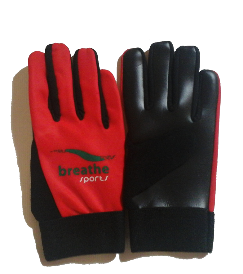 Adult Gloves - (Red/Black)